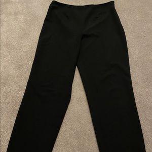 Black pants for suit